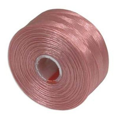 nici S-LON AA Tex 35 0.09 mm pink - nić do beadingu