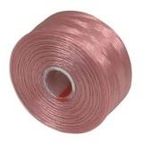 nici S-LON AA Tex 35 0.09 mm pink - nić do beadingu