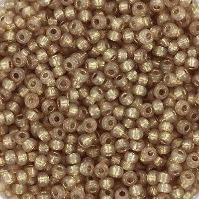 Miyuki perle round duracoat silverlined dyed topaz gold 11/0 #11-4243