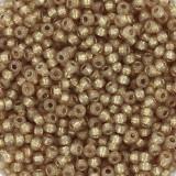 Miyuki round beads duracoat silverlined dyed topaz gold 11/0 #11-4243