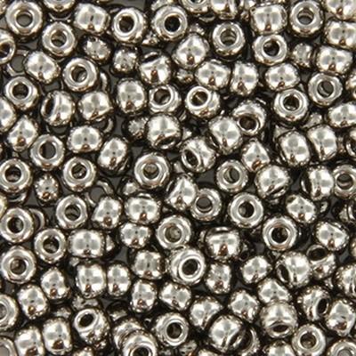 Perles Miyuki rocailles 8/0 plated nickel #8-190