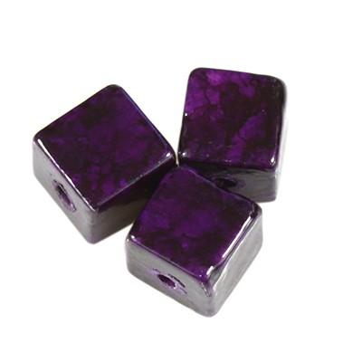 cubes marbre améthyste 5 x 5 mm