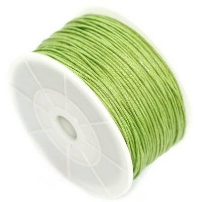 sznurek bawełniany oliwkowy 1 mm