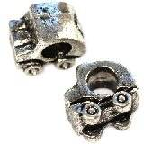 modular beads small car 9 x 10 x 7 mm