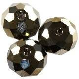 Swarovski briolette beads crystal metallic light gold 6 mm