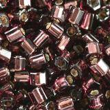 Toho hex silver-lined amethyst 2 mm TH-11-26C