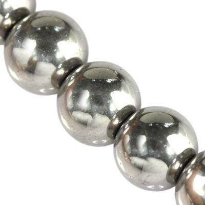 Bubble argent Perles AB 12 mm