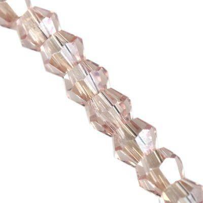 Crystaline biconeja pinkki AB 2 mm / kristalli Lasihelmet