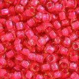 perles Toho round luminous lt topaz/neon pink-lined 2.2 mm TR-11-979