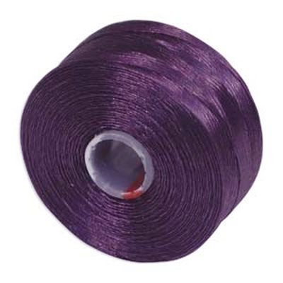 S-lon bead cord tex 35 purple