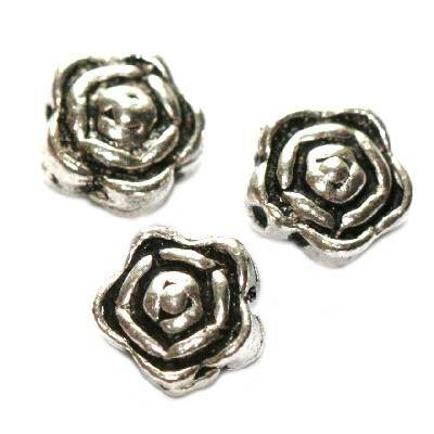 metal bead decorative 7 mm