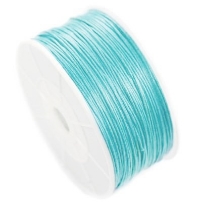cotton cord azure 1 mm