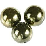 hematyt oliwkowe 6 mm kamień jubilerski