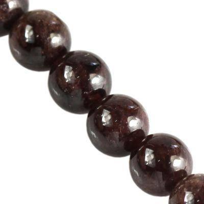 garnet beads A grade 8 mm / gemstone