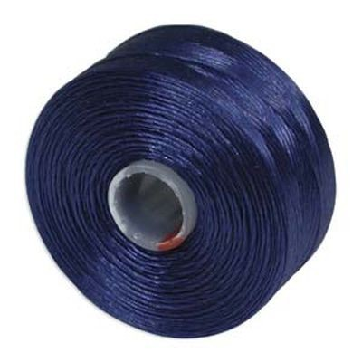 S-lon bead cord tex 35 royal blue