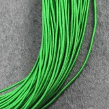 elastic jewelry rubber green 0.8 mm