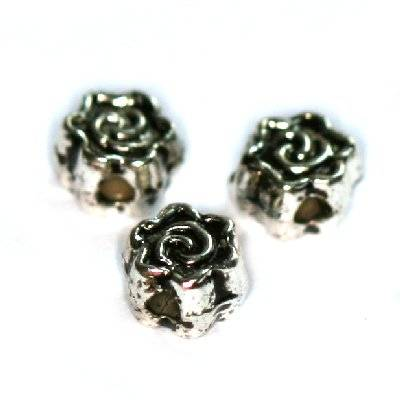 de metal ozdobne flores mini 4.7 mm