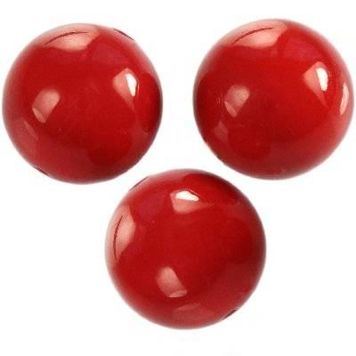 Swarovski crystal red coral pearl 8 mm
