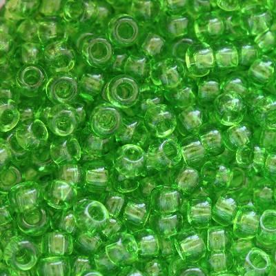 Toho beads round transparent peridot TR-11-7