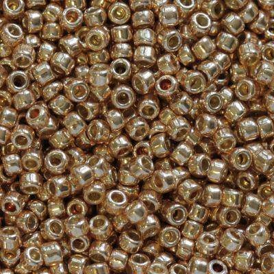 koraliki Toho round permafinish - galvanized rose gold 1.6 mm TR-15-PF551