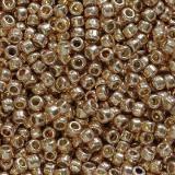 Toho korálky round permafinish - galvanized rose gold 1.6 mm TR-15-PF551