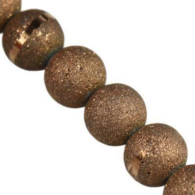 Perles bronze de Sandy 6 mm