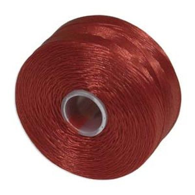 S-lon bead cord tex 35 red
