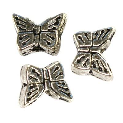 de metal ozdobne mariposas mini 7.5 mm