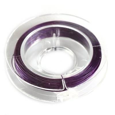 linka stalowa fioletowa 0.38 mm