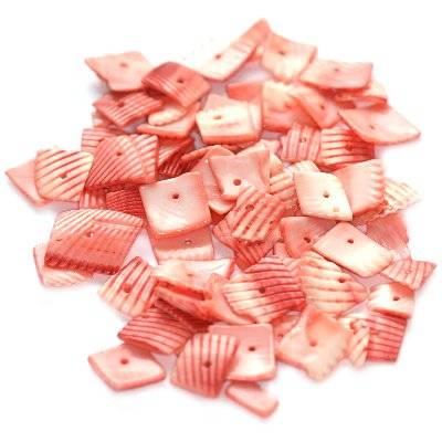 muszle kwadraty prążki cięte różane 0.8-1.5 cm