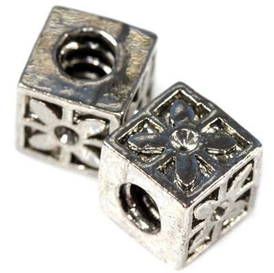 modular beads cubes 10 x 10 mm