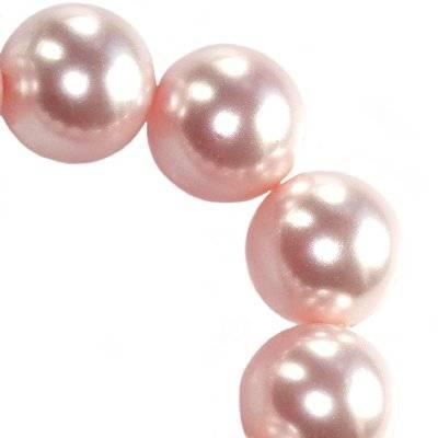 Swarovski crystal rosaline pearl 6 mm