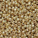 Toho beads round permafinish - galvanized starlight 1.6 mm TR-15-PF557