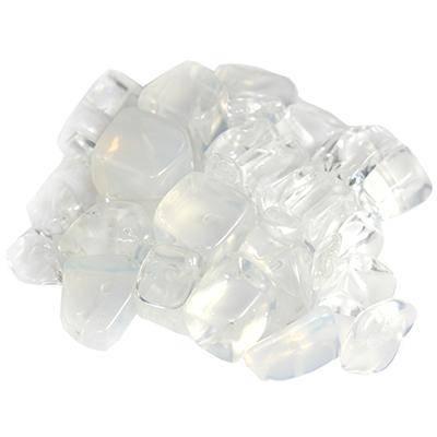 steen groot wit opaal