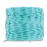 nici S-LON Tex 210 0.5 mm aqua - nić do beadingu