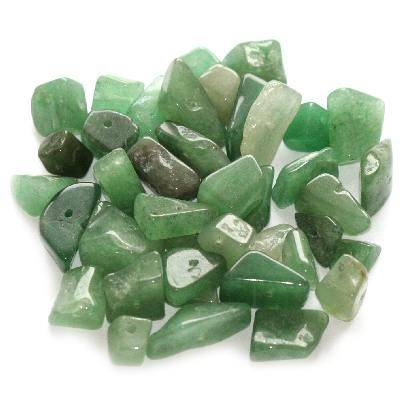 green aventurine big chips / semi-precious stone