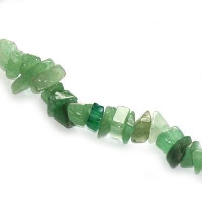 big chips green aventurine