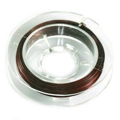 steel wire brown 0.38 mm