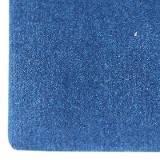 suède blauw vel 20 x 30 cm