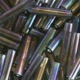koraliki Toho bugle trans-rainbow gray 9 mm TB-03-176B