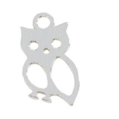 sterling silver 925 pendant owl