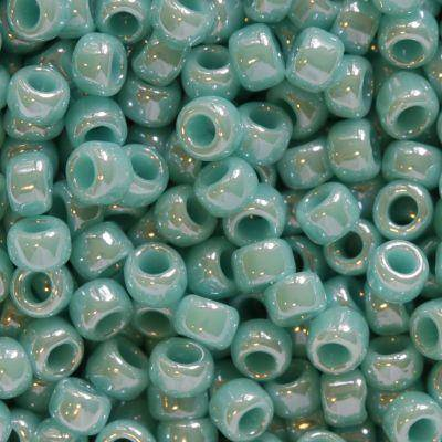 Toho perler opaque-lustered turquoise 2.2 mm TR-11-132