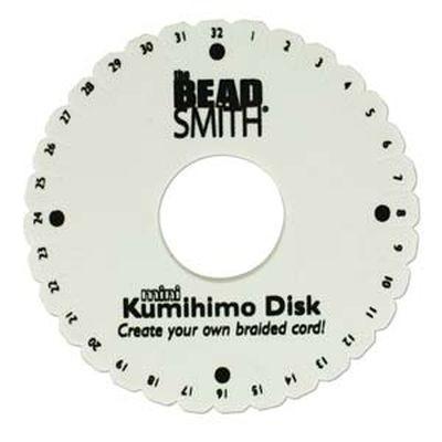 Beadsmith kumihimo disk 11 cm hole diam