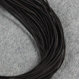 elastic jewelry rubber black 0.8 mm