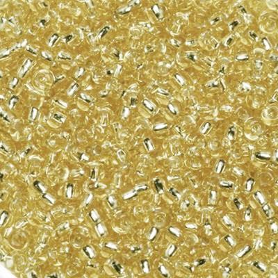 Miyuki round beads silverlined gold 11/0 #11-3