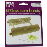 endless loom bands 7 inch clear