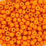 Miyuki round beads 8/0 duracoat opaque kumquat #8-4454
