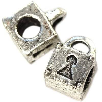 perles modulaires cadenas 11 x 8 mm