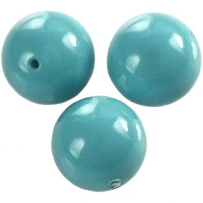 Swarovski crystal turquoise pearl 6 mm