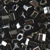 Toho beads hex opaque jet 2 mm TH-11-49